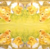 Ubrousek velikonoční - kuřátka ve skořápce