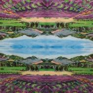Ubrousek zátiší - levandulový lán