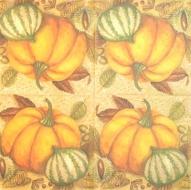 Ubrousek plody- malované dýně