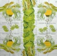 Ubrousek jídlo - verdura e olio