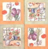 Ubrousek zátiší - zeleninové zátiší