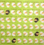 Ubrousek velikonoční - ovečky na louce
