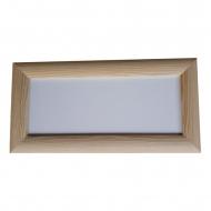 Rámeček dřevěný 25x10 cm