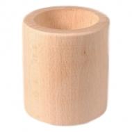 Dřevěný svícen 6 cm