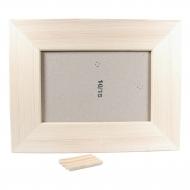 Rámeček na fotky dřevěný  10x15 cm (4)