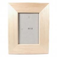 Rámeček na fotky dřevěný plochý  9x13 cm (4)