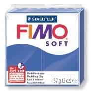 Fimo soft - tmavě modrá 57g