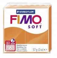 Fimo soft - oranžová 57g