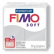 Fimo soft - šedá 57g
