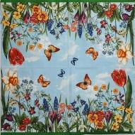 Ubrousek květiny - květiny na louce