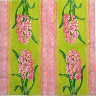 Ubrousek květiny - hyacint růžová