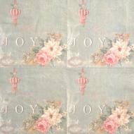 Ubrousek květiny - růže Joy
