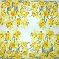 Ubrousek květiny - narcisy 2