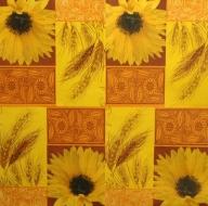 Ubrousek květiny - slunečnice, obilí