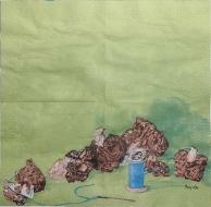 Ubrousek Mona Svärd - houby a nit