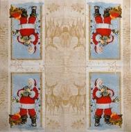 Ubrousek vánoční - Santa 2