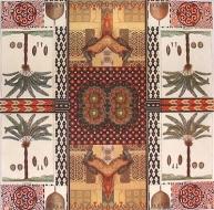 Ubrousek vzorovaný - orientální vzor