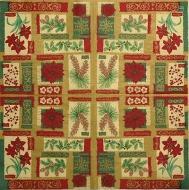 Ubrousek vzorovaný - vánoční vzor