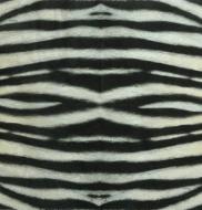 Ubrousek vzorovaný - kůže