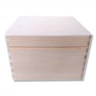 Dřevěná krabička 20x20