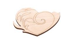 Magnet - srdce 10