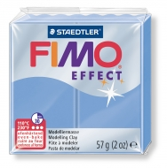 Fimo effect - modrý achát 57g
