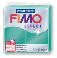 Fimo effect - transparentní zelená 57g