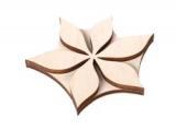 Razítko na textil - flora 07