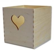 Krabice - zásobník se srdcem
