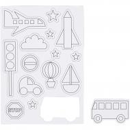 Magnety dětské - doprava