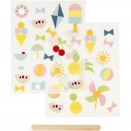 Rub-on Sticker - prázdniny