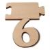 Čísla jmenovky - číslo 6