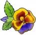 Předměty překližka - květ 04