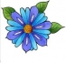 Předměty překližka - květ 06