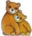 Předměty překližka - medvědi