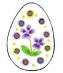 Předměty překližka - vejce 1