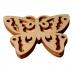 Razítko na textil - Motýl 2