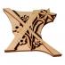 Razítko na textil - písmeno X