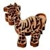 Razítko na textil - Zebra