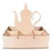 Stojánek na čaj konvice vysoká