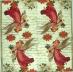Ubrousky andělské - andělé noty