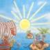 Ubrousky detske - pirati na ostrove