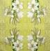 Ubrousek květiny - bílá lilie