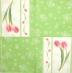 Ubrousek květiny - dva tulipány