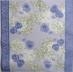 Ubrousek květiny - modré macešky