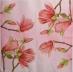 Ubrousek květiny - magnólie