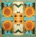 Ubrousek květiny - slunečnice