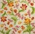 Ubrousek květiny - rozkvetlé tulipány