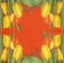 Ubrousek květiny - žluté tulipány