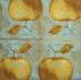 Ubrousek ovoce - zlaté jablko